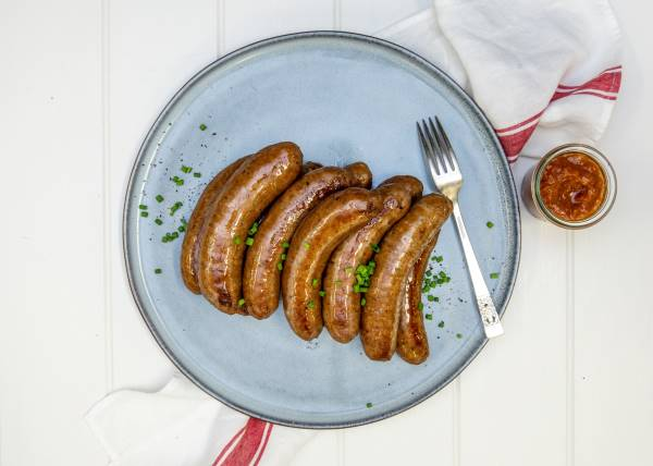 Lamb Sausages cooked 600x400 1