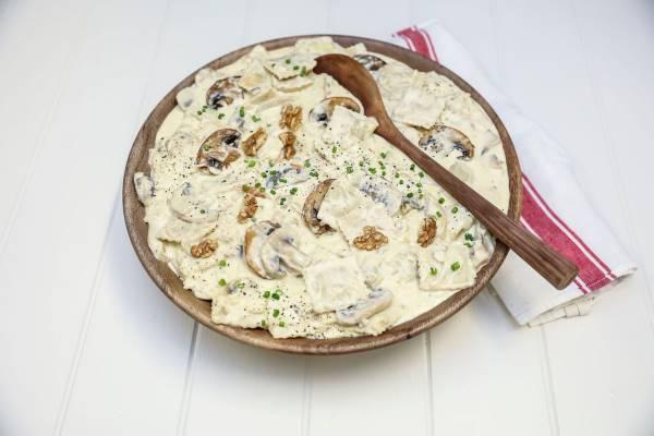 Four Cheese Ravioli Mushrooms 600x400 1