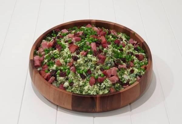 Broccoli Leg Ham SaladB