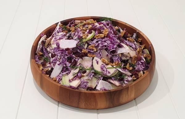 Kohlrabi Red Cabbage SlawB1